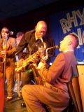 CatMusic proudly presents: SOLD OUT-AUSVERKAUFT! ARMY BALL WITH RAY COLLINS' HOT CLUB and BIG JAY McNEELY