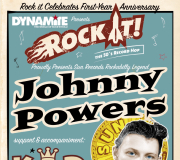 SUN LEGEND JOHNNY POWERS and KING D play in Vienna in November!
