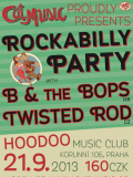 Rockabilly Party with B & the Bops and Twisted Rod