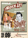 ROCK IT ! SONNY AND HIS WILD COWS WIEN 9.9.2011!